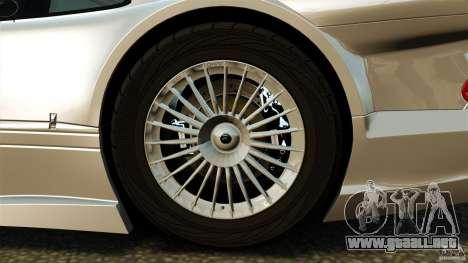 Mercedes-Benz CLK GTR AMG para GTA 4 vista hacia atrás