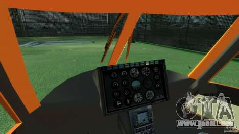 Helicopter From NFS Undercover para GTA 4 vista interior
