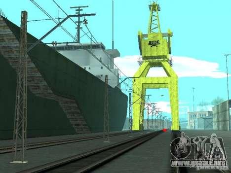 Red de contactos para GTA San Andreas tercera pantalla