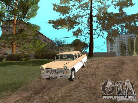 GAS 13 para vista lateral GTA San Andreas