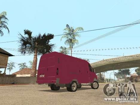 2705 Gacela para vista inferior GTA San Andreas