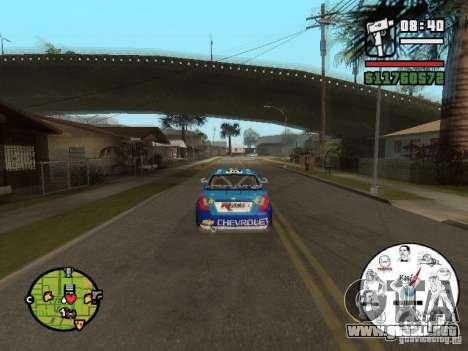 Un velocímetro único con los MEMES para GTA San Andreas tercera pantalla