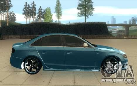 Audi S4 2009 para visión interna GTA San Andreas