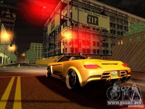 Toyota MR-S para visión interna GTA San Andreas