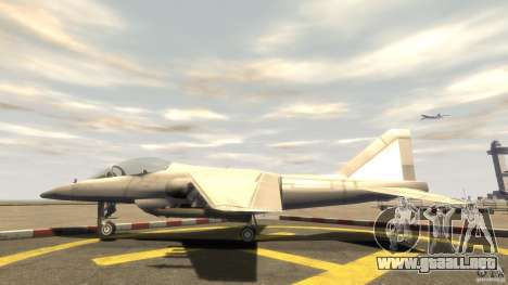Liberty City Air Force Jet (con equipo) para GTA 4 left