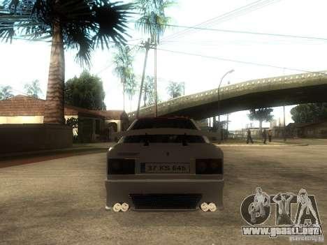 Renault 9 GTD para GTA San Andreas vista posterior izquierda
