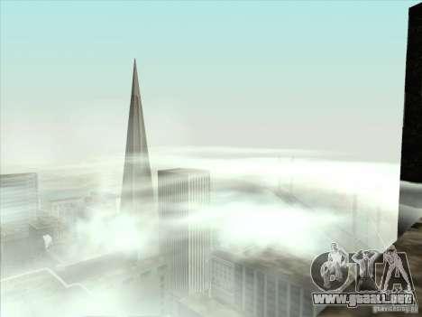 Un realista Timecyc para GTA San Andreas