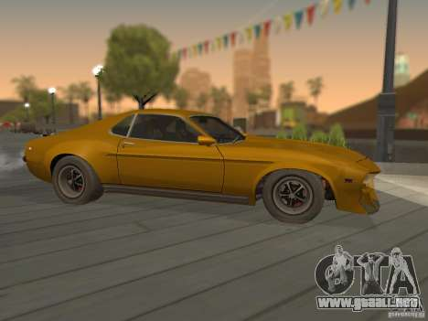 SPEEDEVIL from FlatOut 2 para GTA San Andreas left