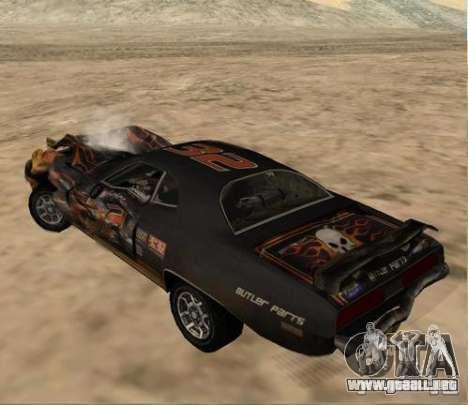Bullet from FlatOut 2 para la visión correcta GTA San Andreas
