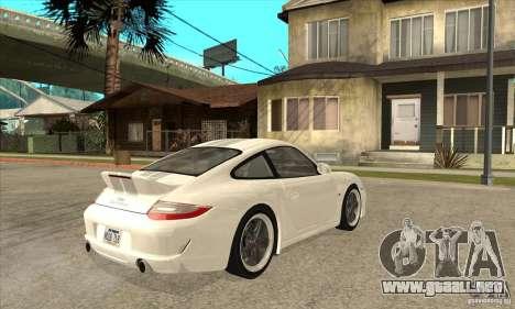 Porsche 911 Sport Classic para la visión correcta GTA San Andreas