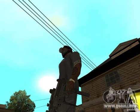 Mini-Uzi para GTA San Andreas tercera pantalla
