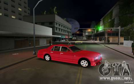 Bentley Arnage T 2005 para GTA Vice City vista lateral izquierdo