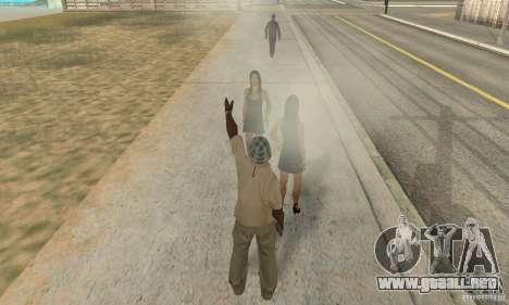 SuperClon (clonación personas en SAN ANDREAS) para GTA San Andreas sucesivamente de pantalla
