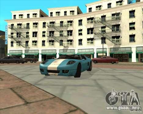 MOD de Jyrki para GTA San Andreas quinta pantalla