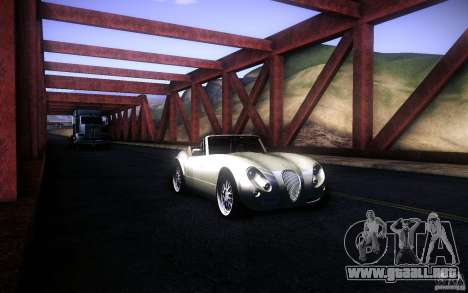 Wiesmann MF3 Roadster para GTA San Andreas interior