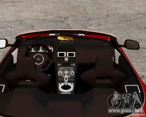 Aston Martin DBS Volante 2010 v1.5 Bonus Version para GTA 4 vista hacia atrás