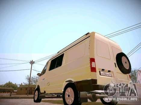 GAZ 2217 negocios para la visión correcta GTA San Andreas