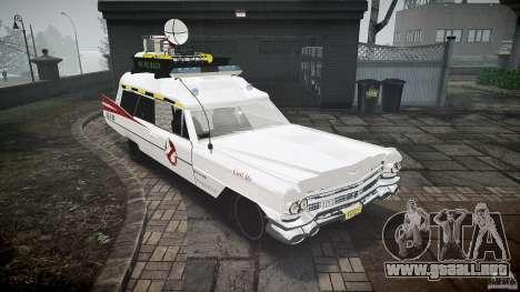 Cadillac Ghostbusters para GTA 4 visión correcta