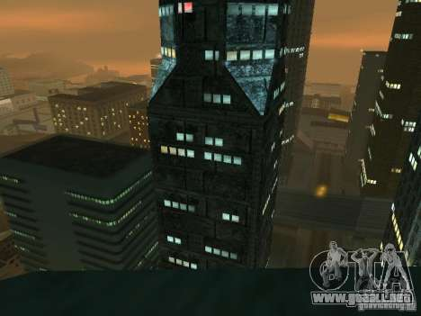 Nuevos rascacielos de texturas LS para GTA San Andreas quinta pantalla