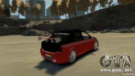 RENAULT LOGAN SPORT para GTA 4 visión correcta