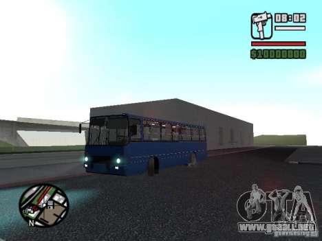 Ikarus 260.51 para visión interna GTA San Andreas