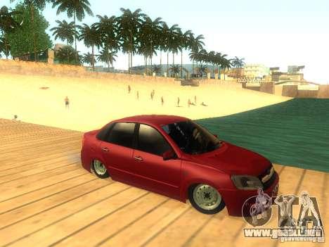 Lada Granta para vista lateral GTA San Andreas