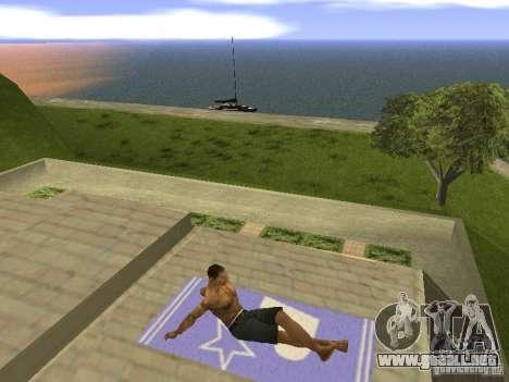 Estera del resto para GTA San Andreas sucesivamente de pantalla
