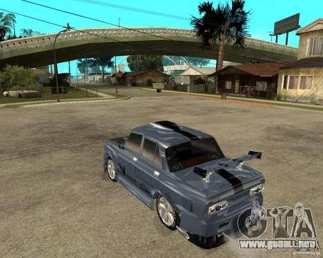 AZLK 2140 afinado SX para GTA San Andreas left