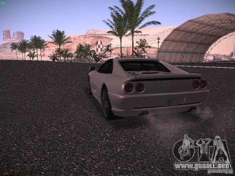 Ferrari F355 Targa para la visión correcta GTA San Andreas