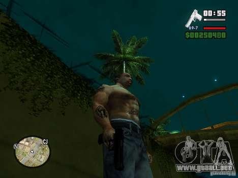 Carbon Desert Eagle para GTA San Andreas tercera pantalla