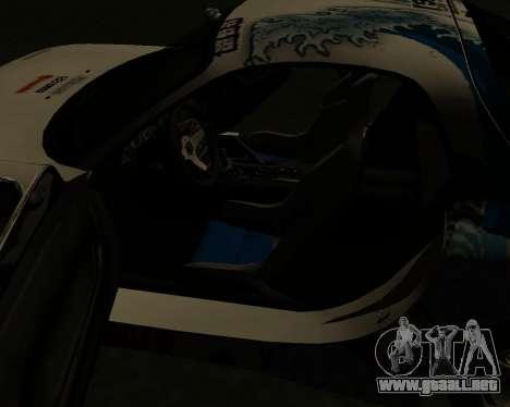Mazda RX7 para vista inferior GTA San Andreas