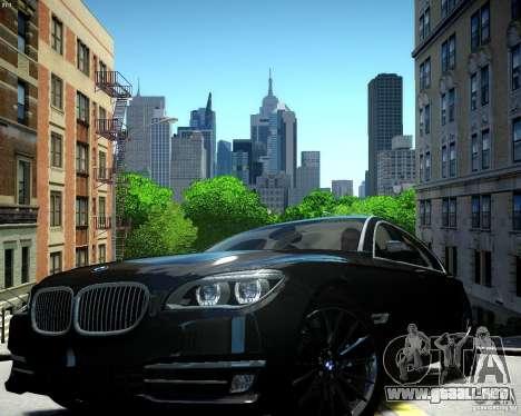 BMW 750Li 2013 para GTA 4
