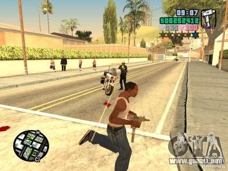 Vice City Hud para GTA San Andreas quinta pantalla