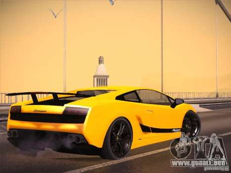 Orange ENB by NF v1 para GTA San Andreas segunda pantalla