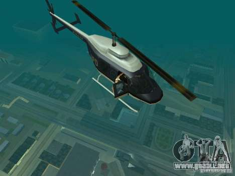 Helicopter Grab v1.0 para GTA San Andreas segunda pantalla