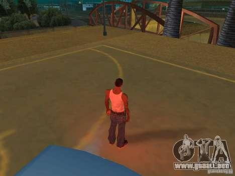 IVLM 2.0 TEST №3 para GTA San Andreas tercera pantalla