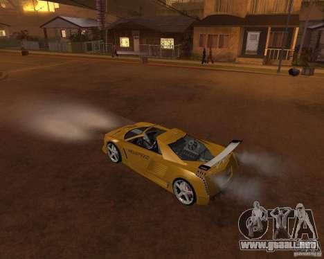 Cadillac Cien The SHARK DREAM Tuning para visión interna GTA San Andreas