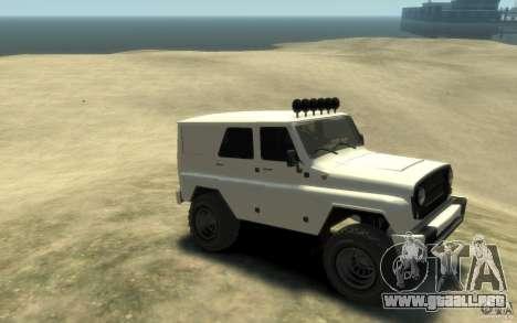 UAZ Hunter final para GTA 4 visión correcta