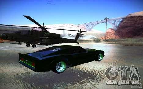 Ford Mustang RTR Drift para la visión correcta GTA San Andreas