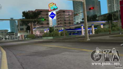 Aral Tankstelle Mod para GTA Vice City segunda pantalla