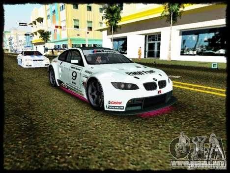 BMW M3 GT2 para GTA Vice City vista posterior
