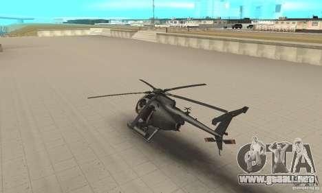 AH para GTA San Andreas vista posterior izquierda