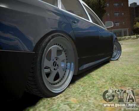 Audi A6 Avant Stanced para GTA 4 vista interior