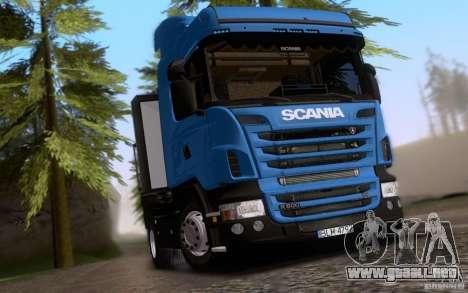 Scania R500 para la visión correcta GTA San Andreas