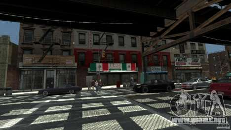 Puglia Pizza in Brook para GTA 4 segundos de pantalla