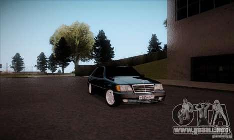 Mercedes-Benz 600SEL AMG 1993 para la visión correcta GTA San Andreas
