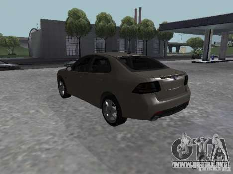 Saab 9-3 Turbo X para GTA San Andreas left