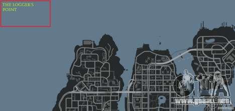 The Loggers Point para GTA 4 undécima de pantalla