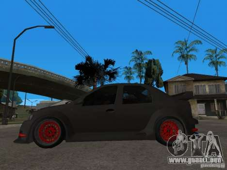 Dacia Logan Tuned para GTA San Andreas left