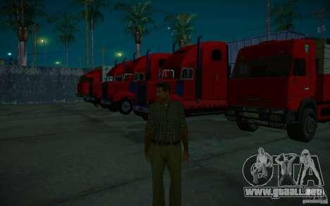ENBSeries v1.0 por GAZelist para GTA San Andreas undécima de pantalla